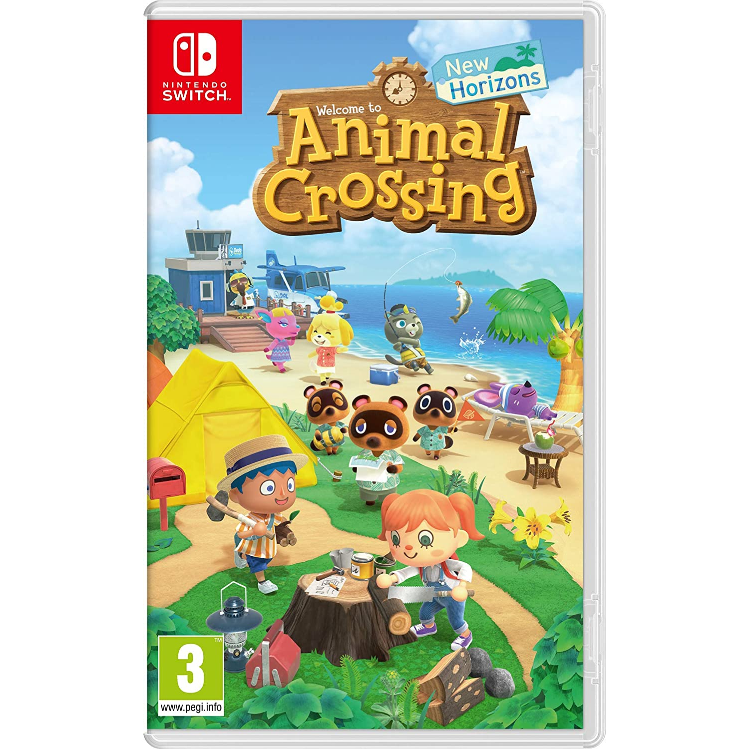 Nintendo Switch Juego Animal Crossing: New Horizons [Solo Ingles]