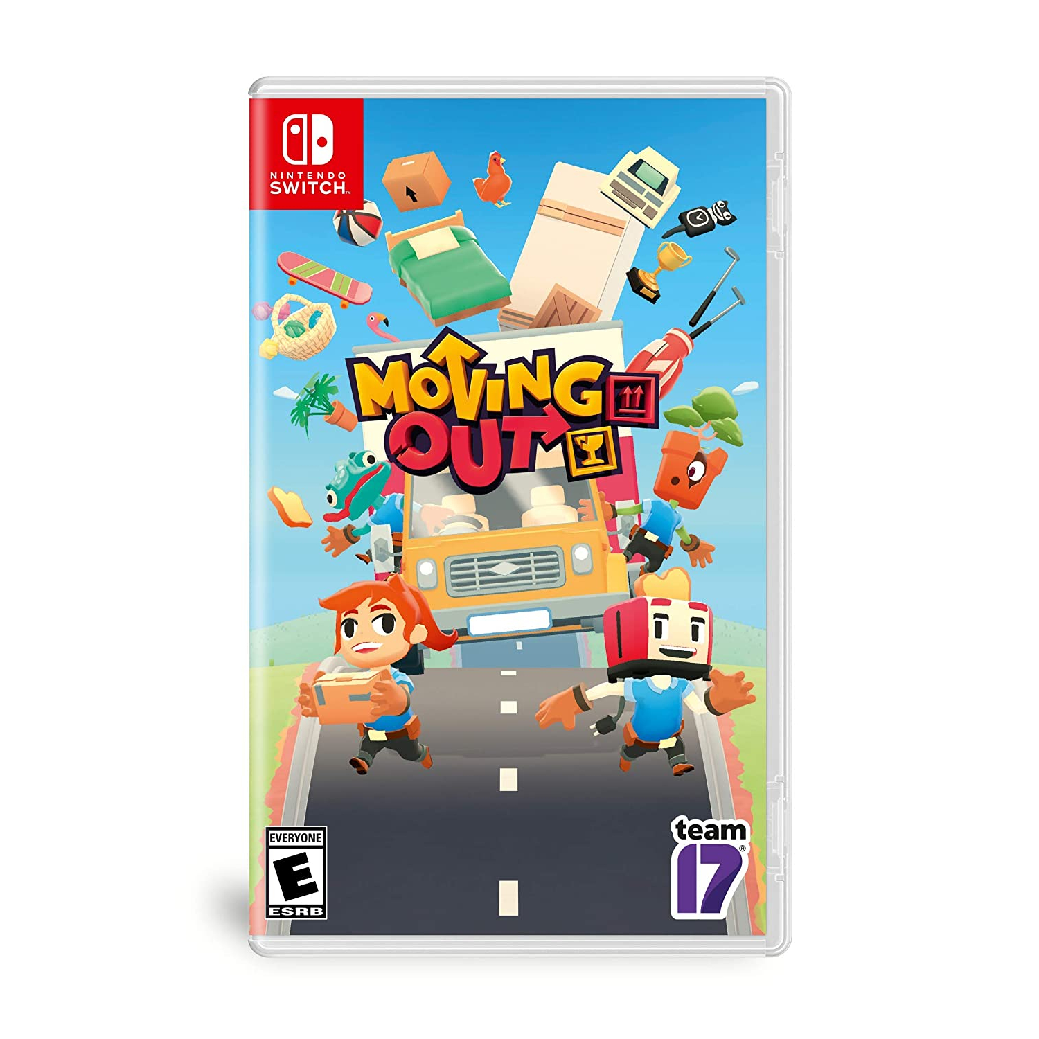 Nintendo Switch Juego - Moving Out [Inglés]