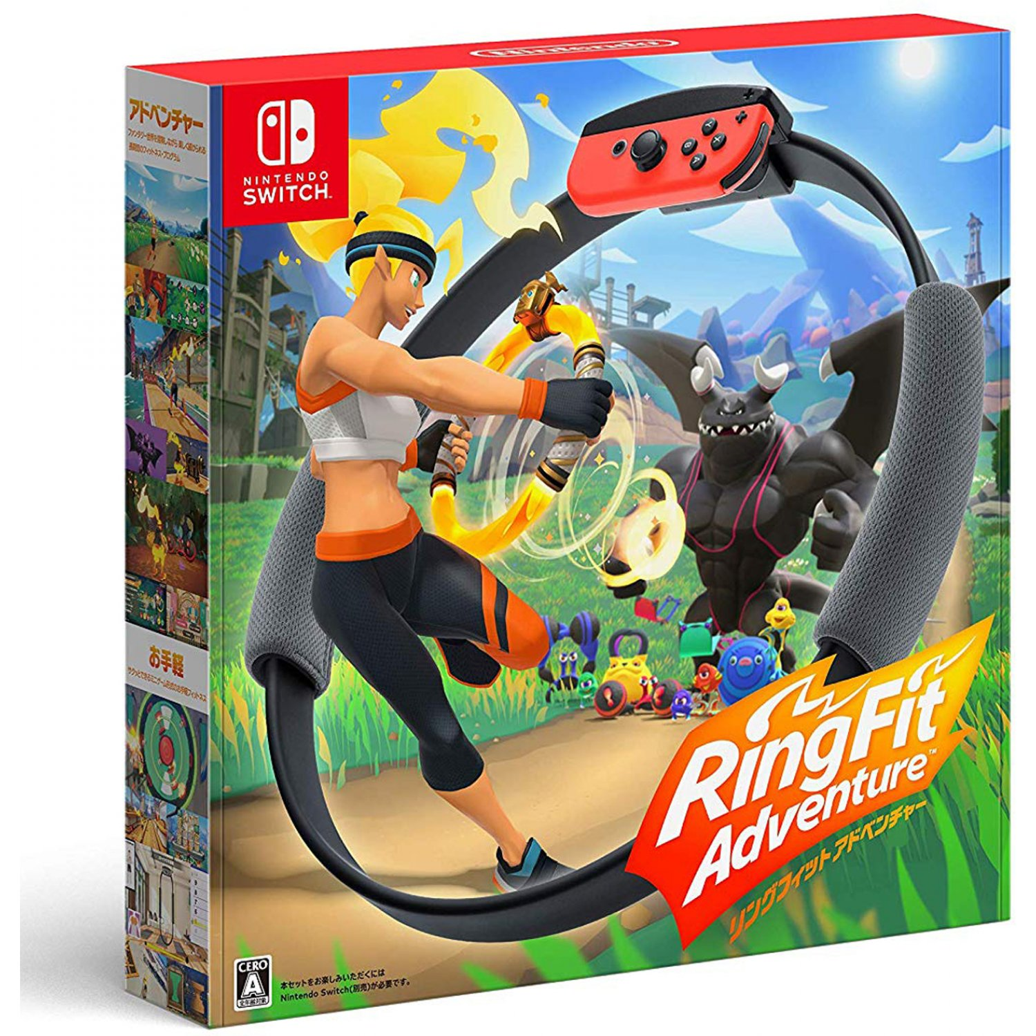 Nintendo Switch Juego Ring Fit Adventure [Solo Ingles]