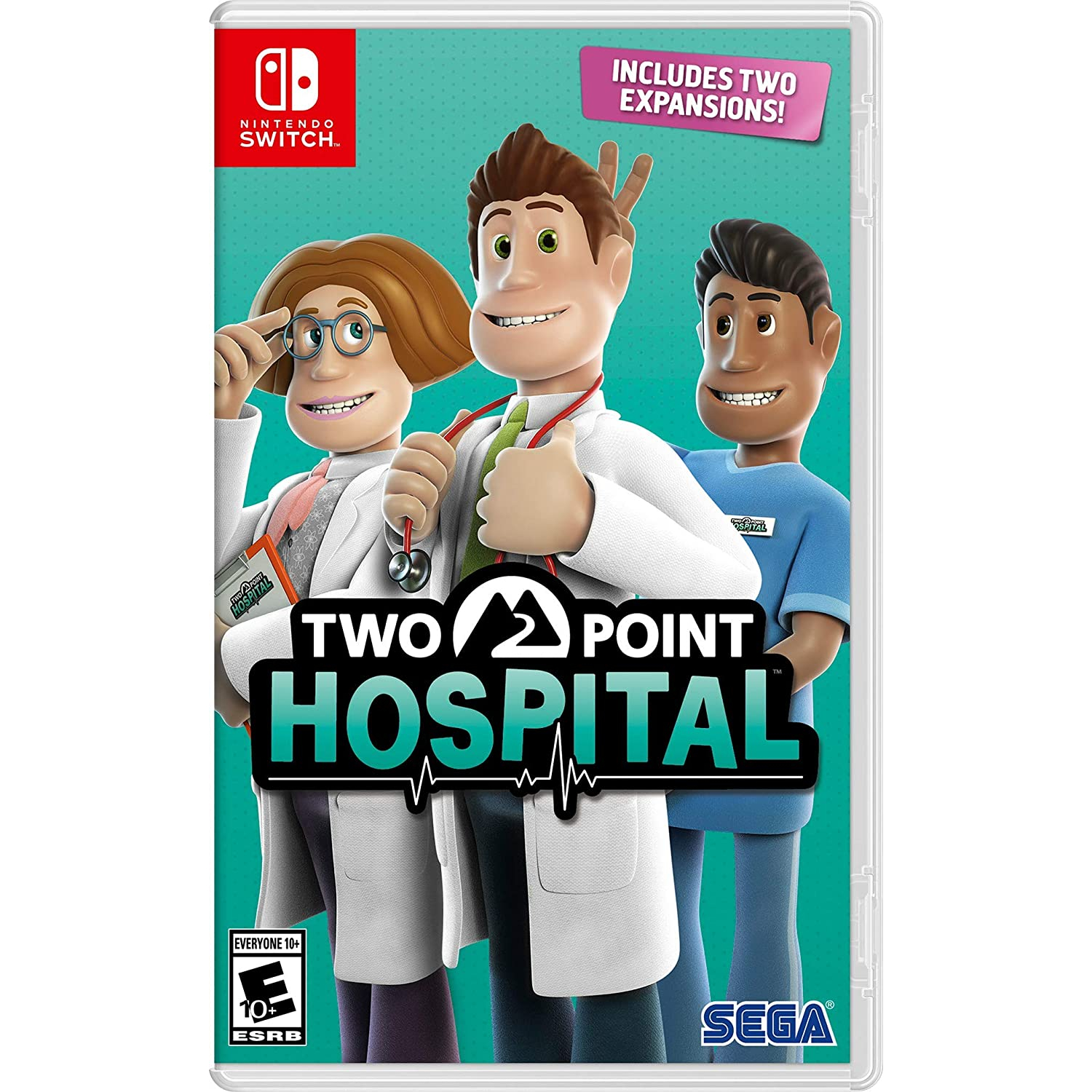 Nintendo Switch Juego - Two Point Hospital [Inglés]